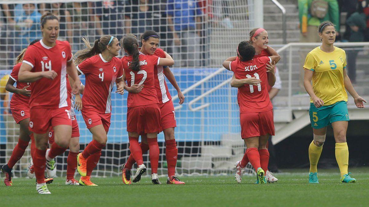 En el primer día de competencia, una canadiense hizo el gol más rápido de los Juegos Olímpicos