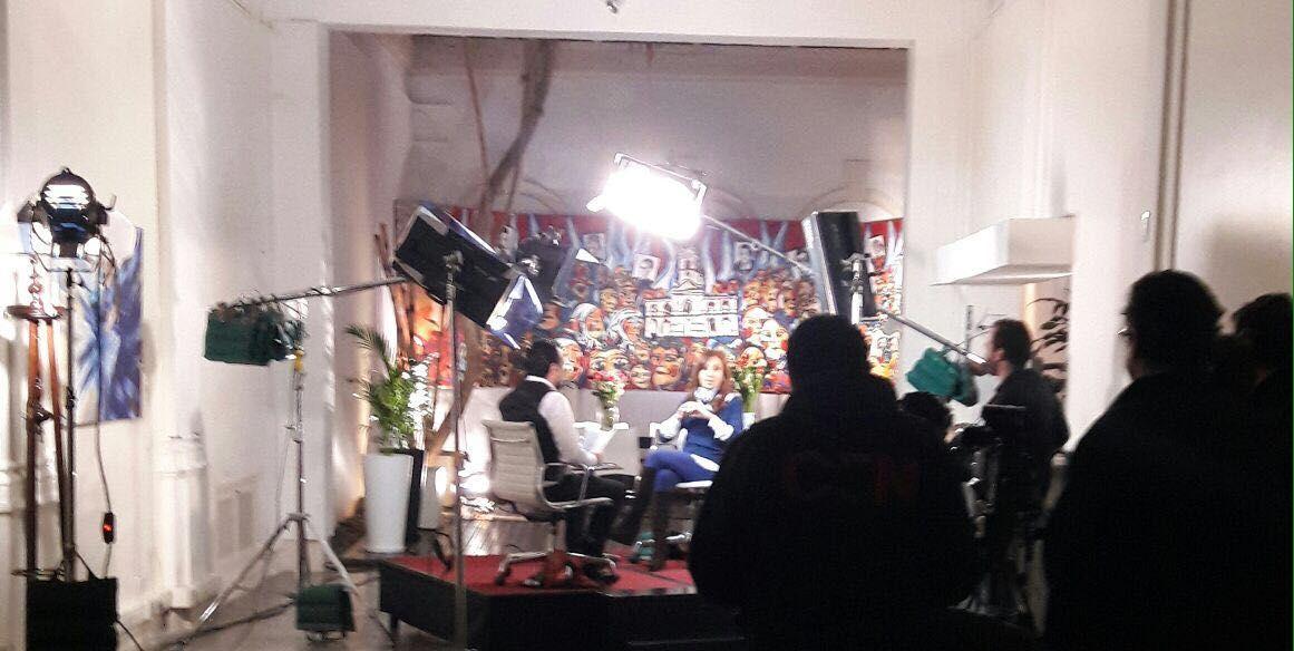 Cristina Kirchner en C5N:Alguien con el apellido Macri no puede hablar de patria contratista