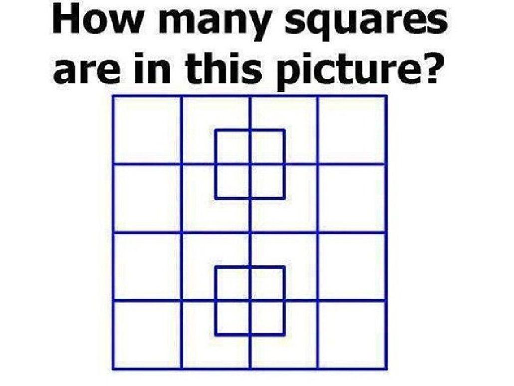 ¿Cuántos cuadrados ves en la imagen? Solo el 8% de las personas puede resolverlo