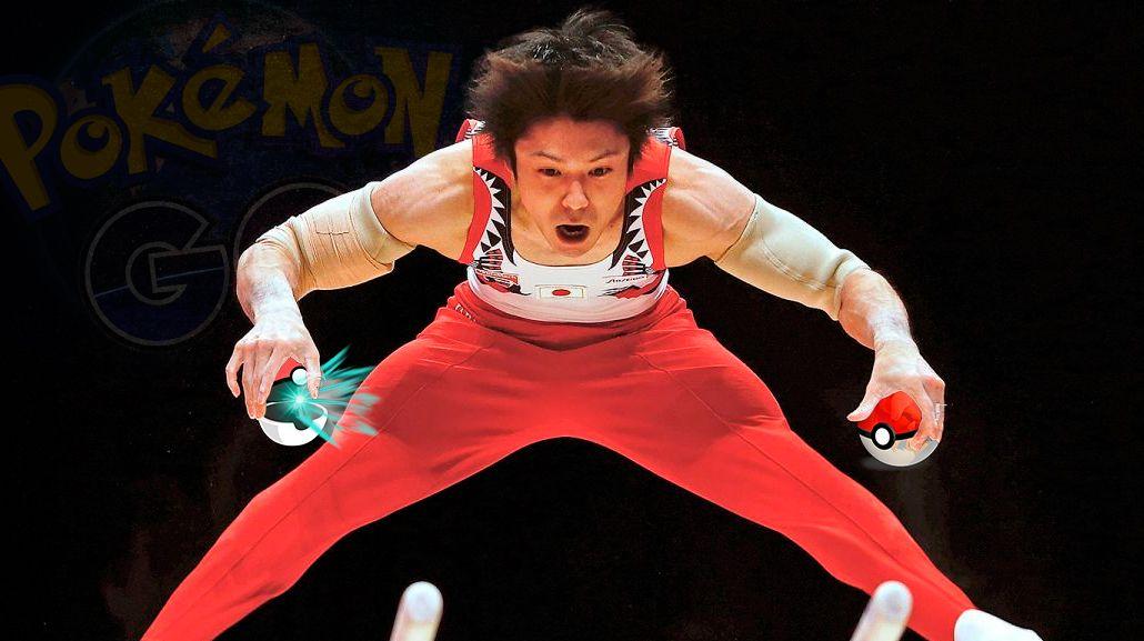 Un gimnasta japonés gastó 5 mil dólares por jugar al Pokémon Go en la Villa Olímpica