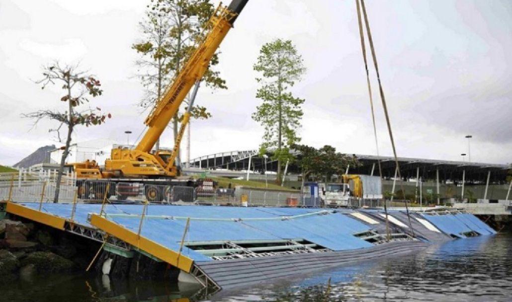 Un temporal azotó Río de Janeiro y dañó parte de las instalaciones de los Juegos
