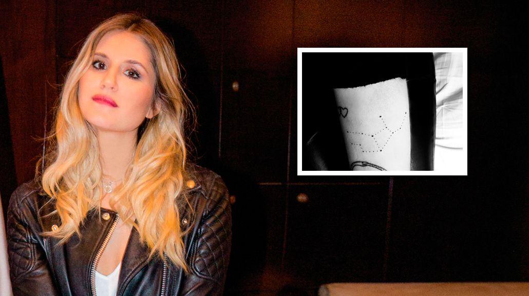 El misterioso nuevo tatuaje de Micaela Tinelli