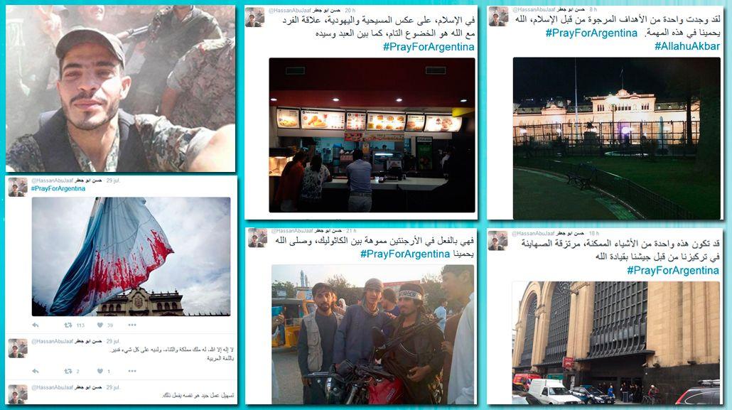 ¿Qué dicen los tuits escritos en árabe con los que amenazaron a Macri?