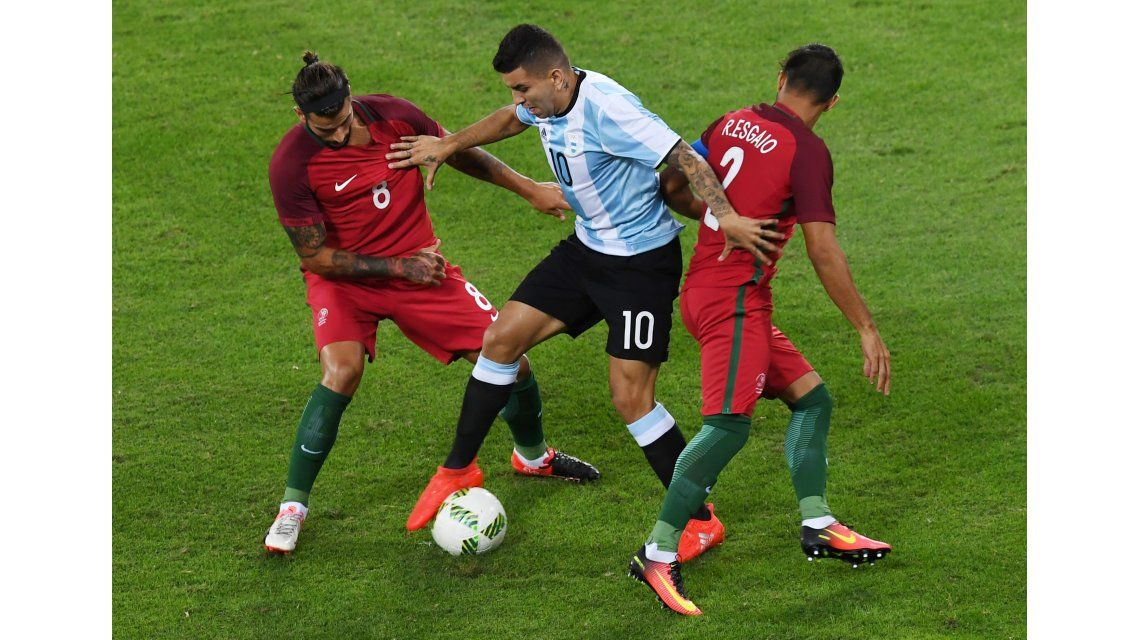 La Selección cayó ante Portugal en el debut en los Juegos de Río 2016