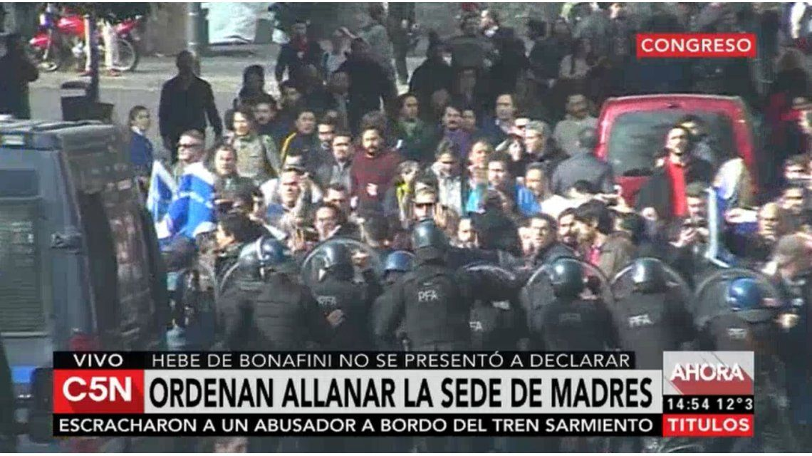 Ordenan detener a Hebe de Bonafini, que evadió a la Policía y se fue a Plaza de Mayo