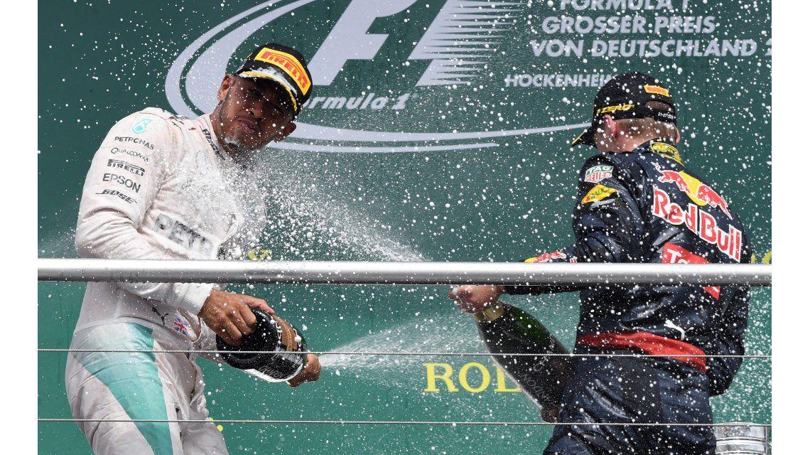 Imparable: el campeón Hamilton volvió a ganar en Alemania