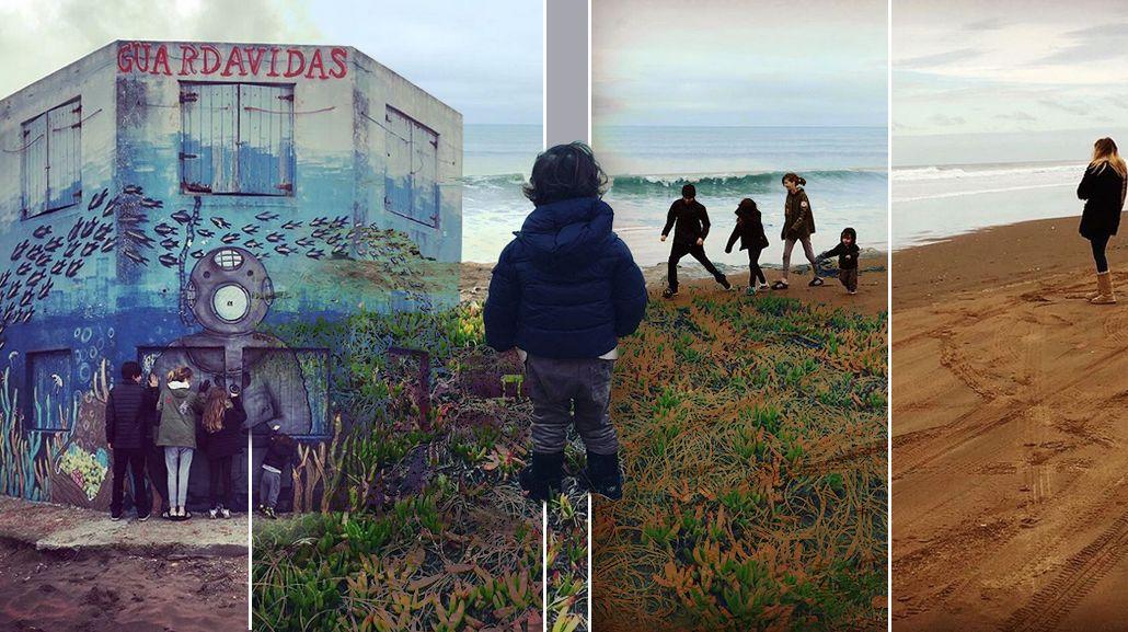 El viaje de Guillermina Valdes con sus cuatro hijos a Necochea: Compartir con ellos mi origen
