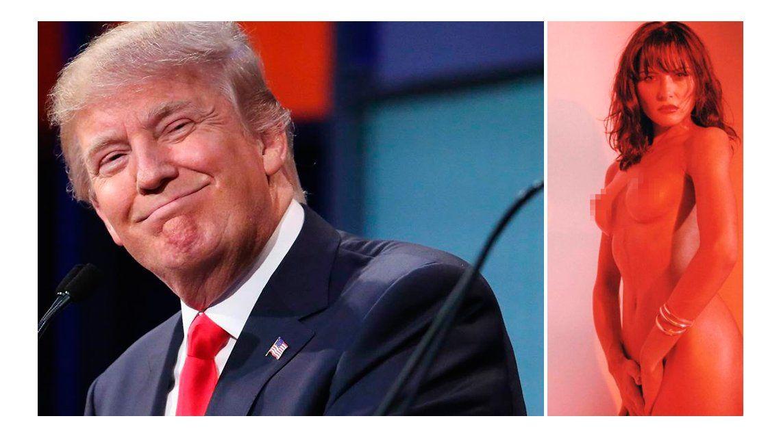 La respuesta de Trump por el desnudo de su mujer: Es algo común