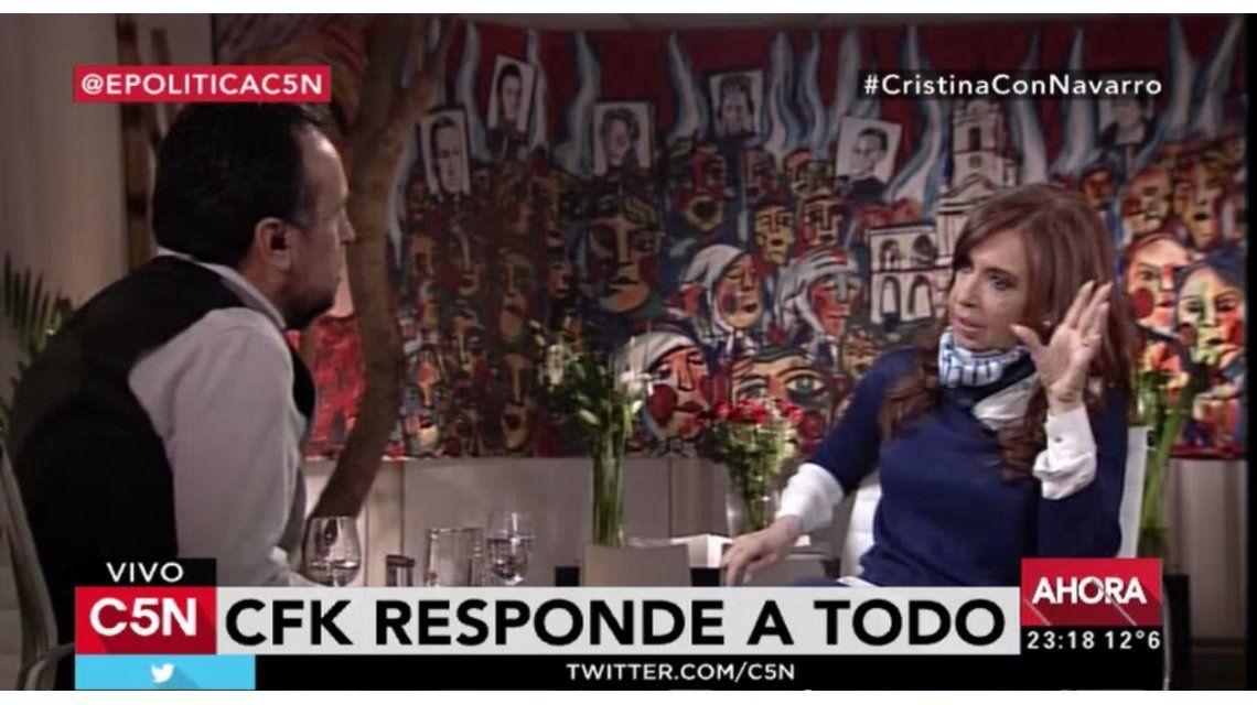 #CristinaConNavarro fue TT global y C5N estuvo entre los canales más vistos