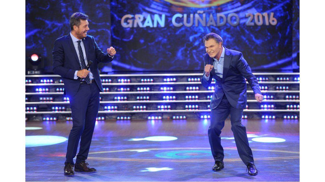 Tras la reunión con Tinelli en Olivos, Macri volvió a ser imitado en Gran Cuñado