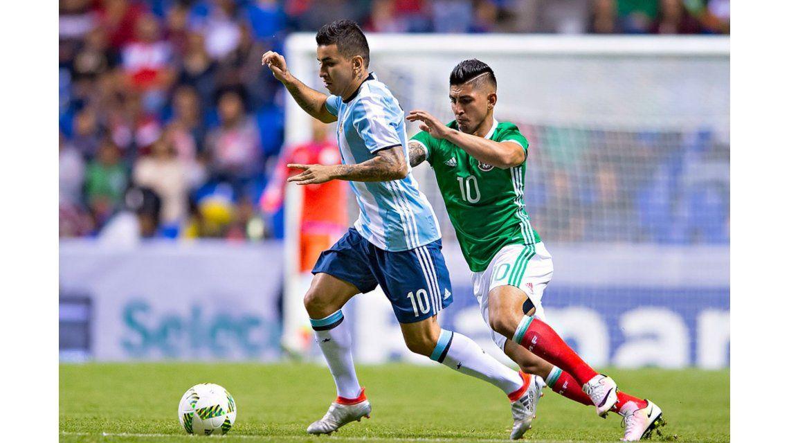 Con la mirada puesta en Río, Argentina y México aburrieron en un amistoso