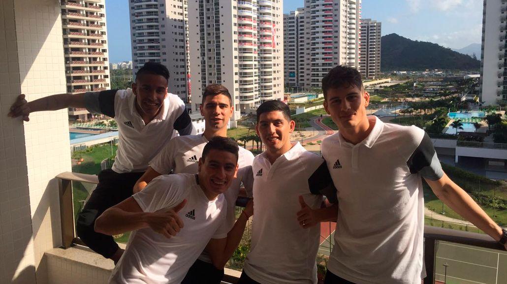 La Selección Sub 23 ya está en Río y espera el debut ante Portugal