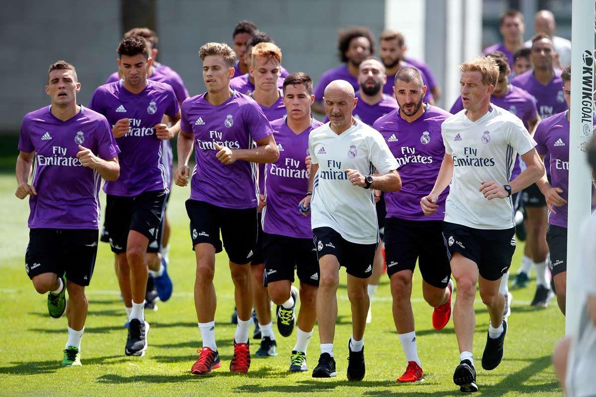 ¿El fin del fútbol? Zidane pidió a un preparador físico más que exigente