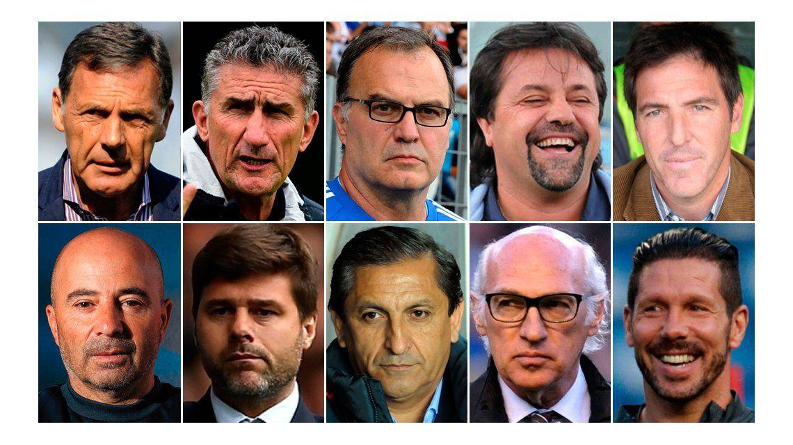 Uno por uno: qué dijeron los 10 técnicos que sonaron para la Selección Argentina