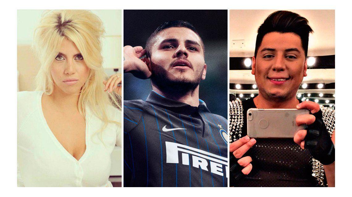 Jugada confesión: el fan de Wanda quiere tener sexo con Mauro Icardi