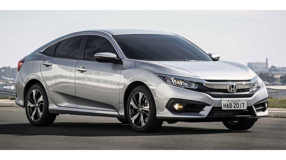 El nuevo Honda Civic que se lanzó en Brasil