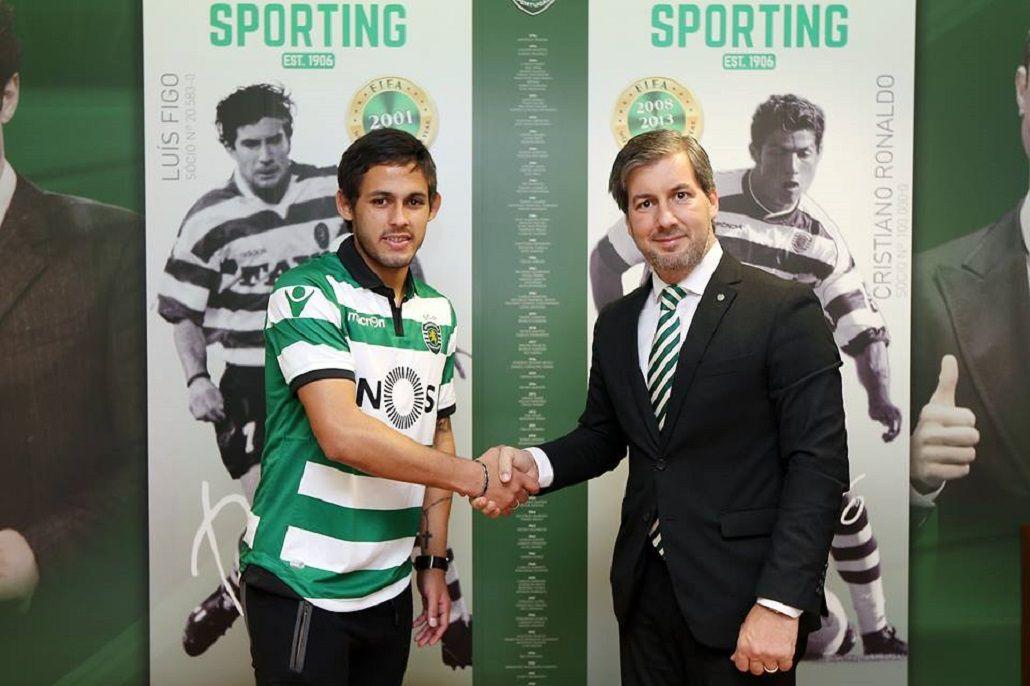 El Sporting Lisboa celebra la llegada de Marcelo Meli: Ya es nuestro