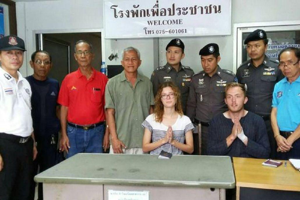Tailandia: tuvieron sexo en la calle y la policía los obligó a rezar para pedir perdón
