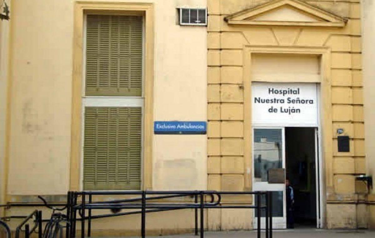 El Hospital de Luján no atiende pacientes de otros distritos: No hubo alternativa