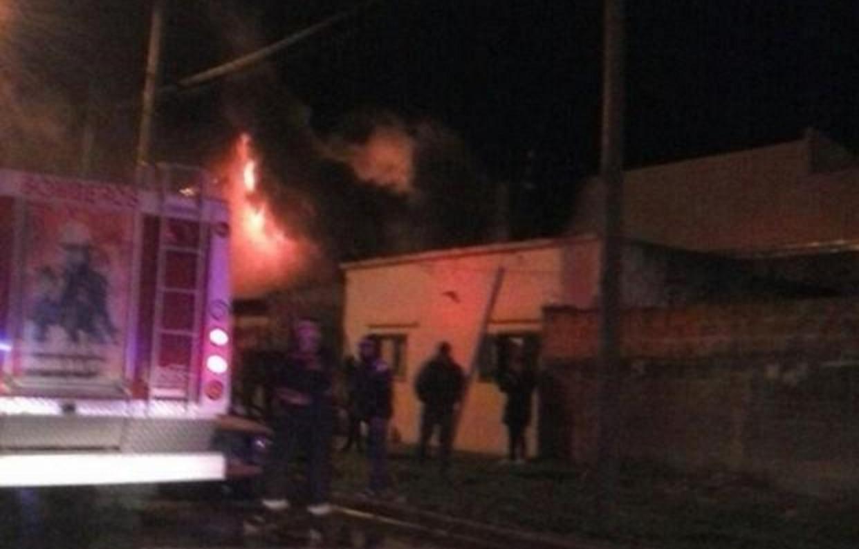 Una beba murió al incendiarse la casa en la que vivía en Ensenada