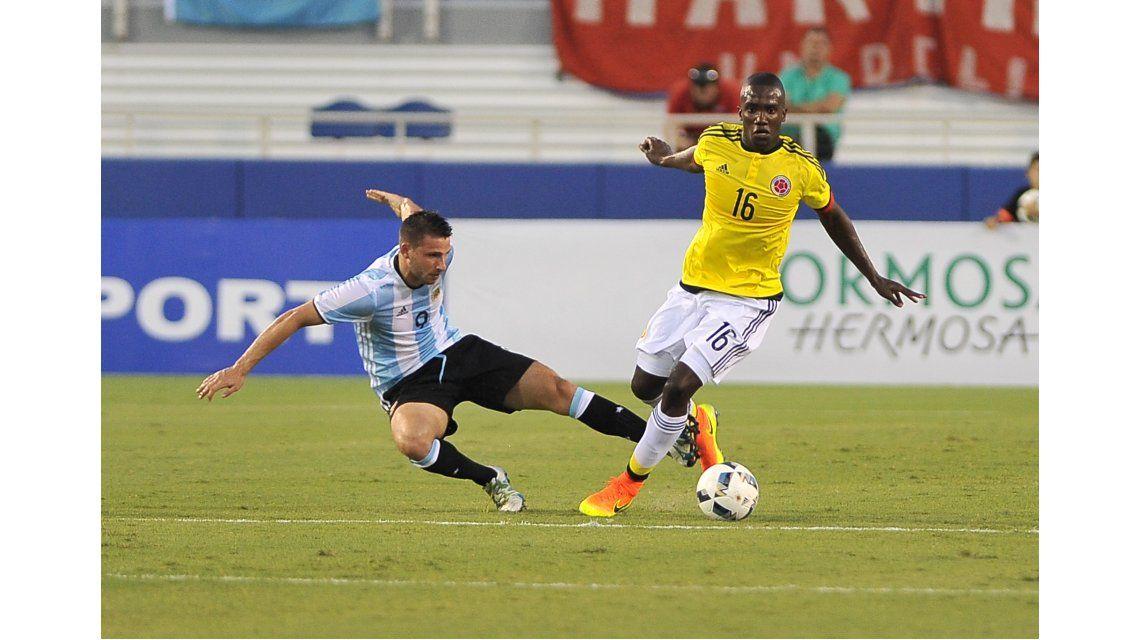 El primer amistoso de la Selección de Olarticoechea, en fotos