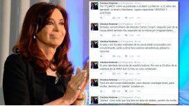 Cristina, dura contra el Gobierno