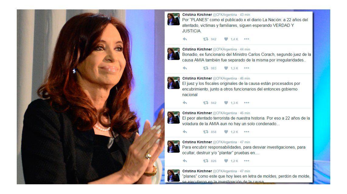 Cristina, dura contra el Gobierno por el intento de reabrir la denuncia de Nisman