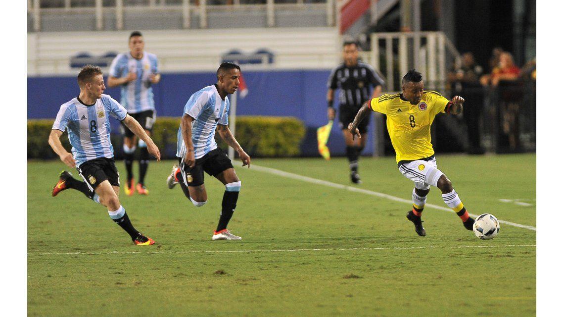 La Selección sub 23 empata 0 a 0 ante Colombia en Miami