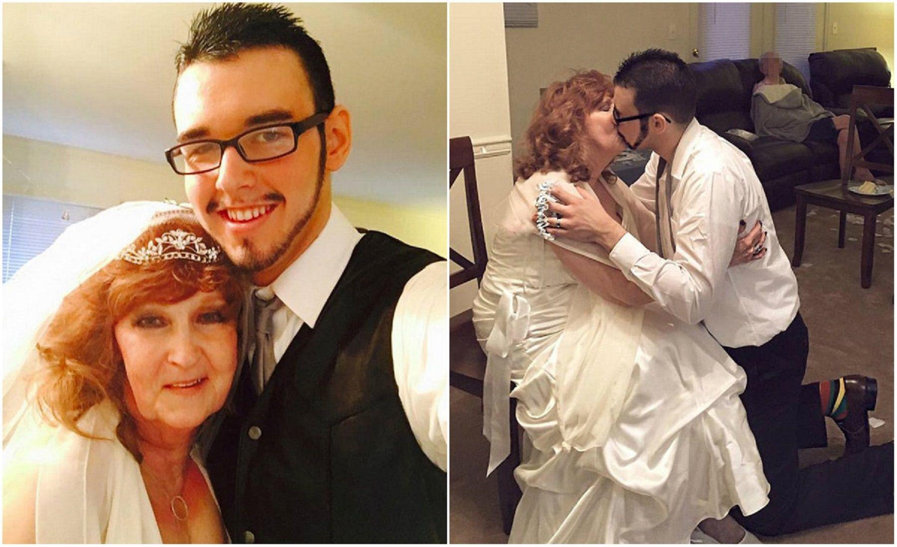 Tiene 71 años y conoció a su nueva pareja de 17 en el funeral de su hijo