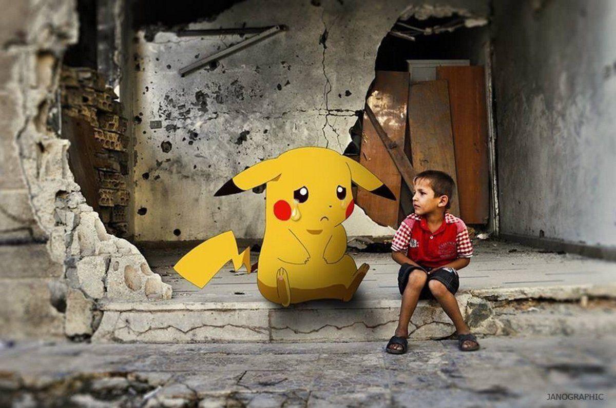 El conmovedor uso que le dan los niños de Siria a Pokémon GO
