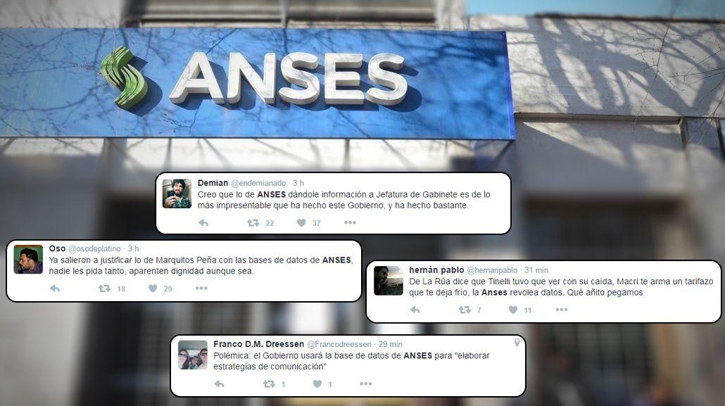 Polémica en las redes por el uso del Gobierno de bases de datos de la Anses