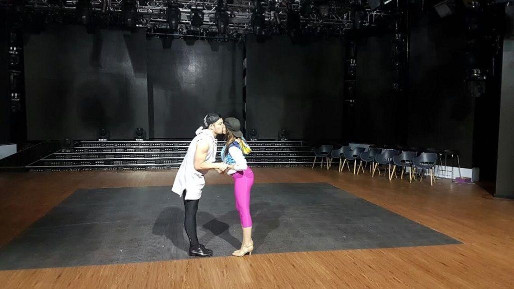 Francisco Delgado se besará con Charlotte Caniggia en la salsa en trío