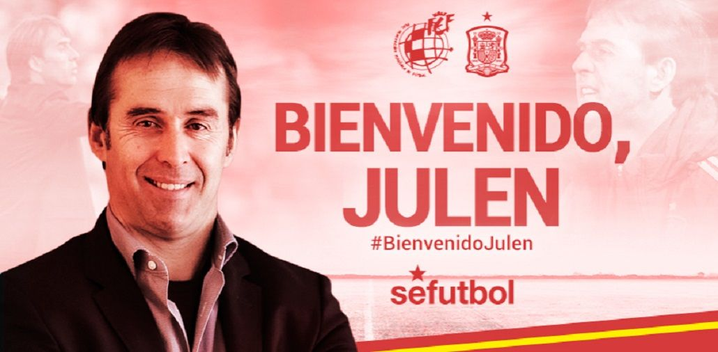 Para imitar: la Selección de España eligió a Lopetegui como nuevo entrenador