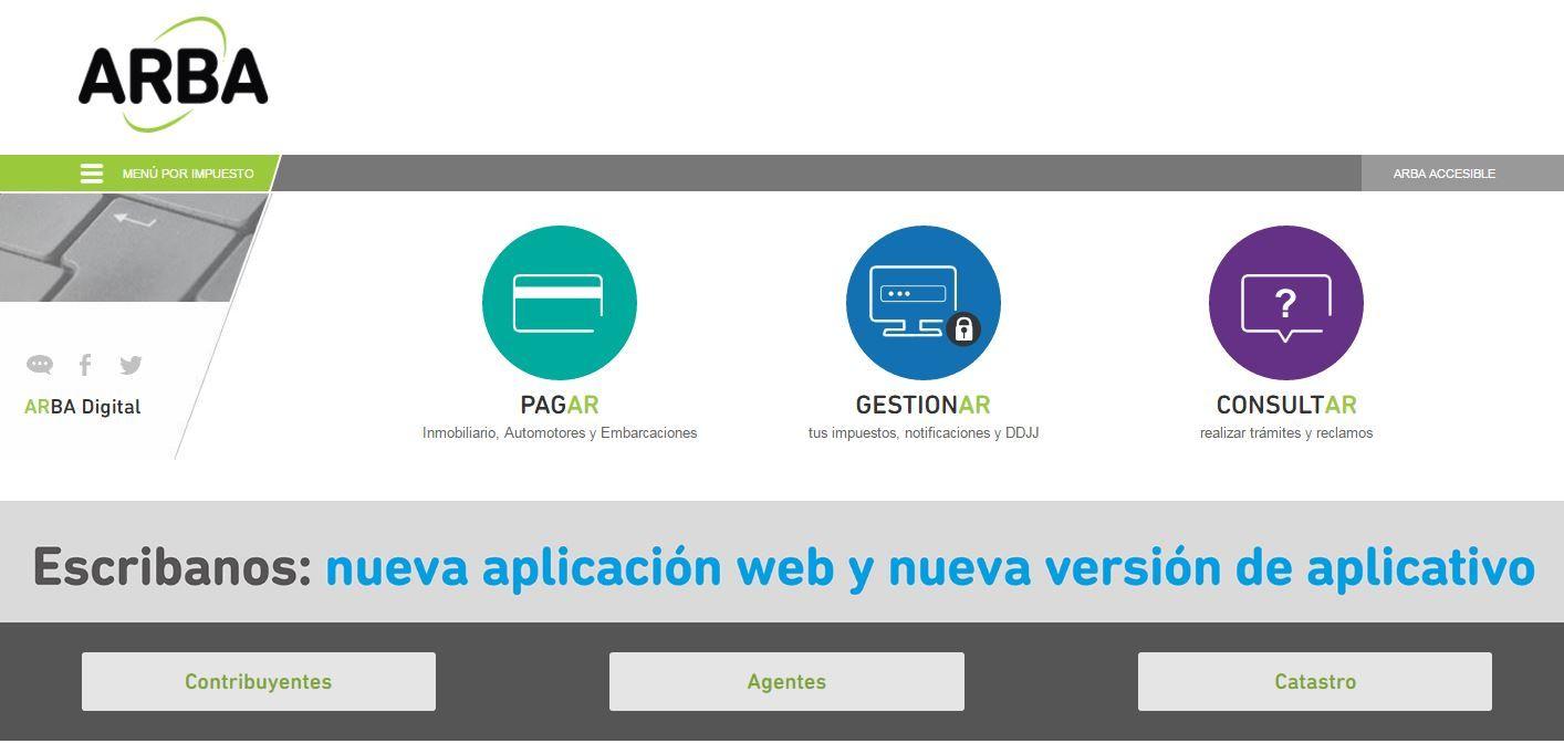¿Cómo funciona la nueva página de Arba?