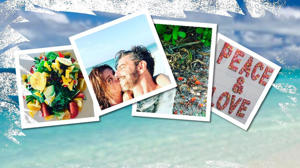 Las misteriosas vacaciones de Araceli González y Fabián Mazzei en un paraíso