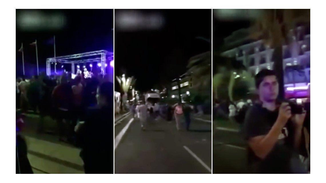 Apareció otro escalofriante video de la masacre en Niza