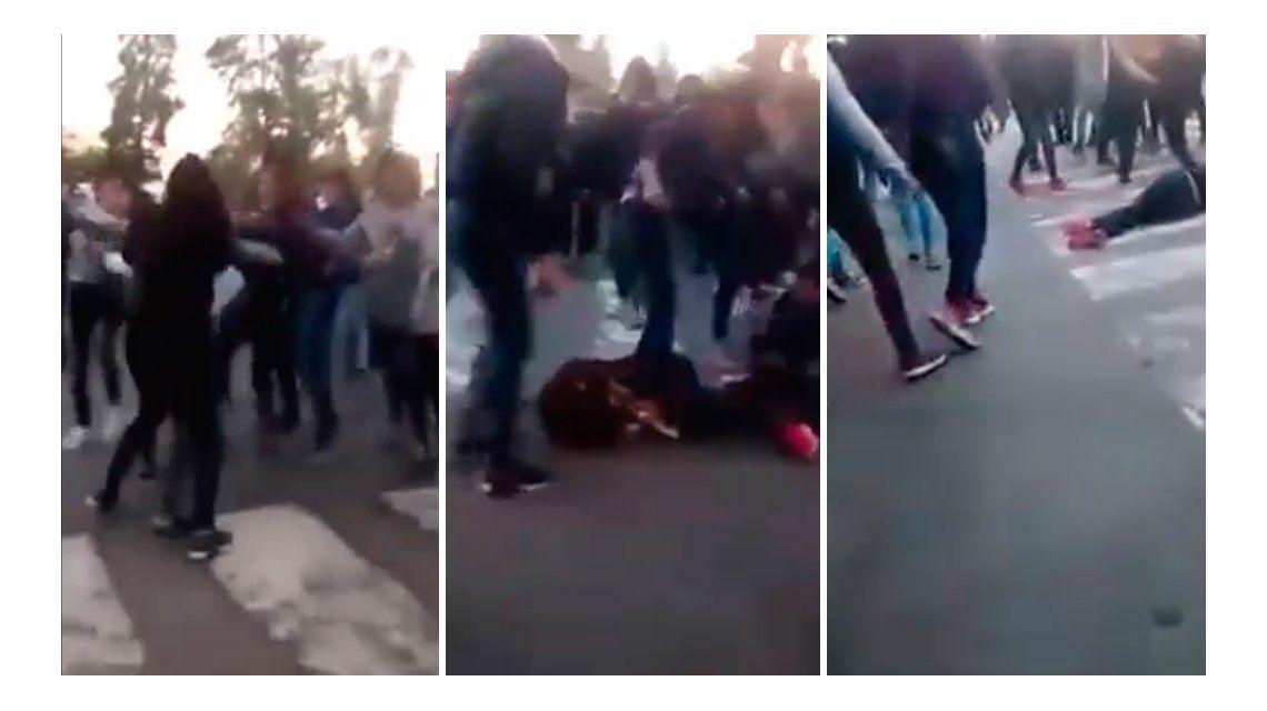 VIDEO: Piedrazos, disturbios y una joven desmayada en el Día del Amigo