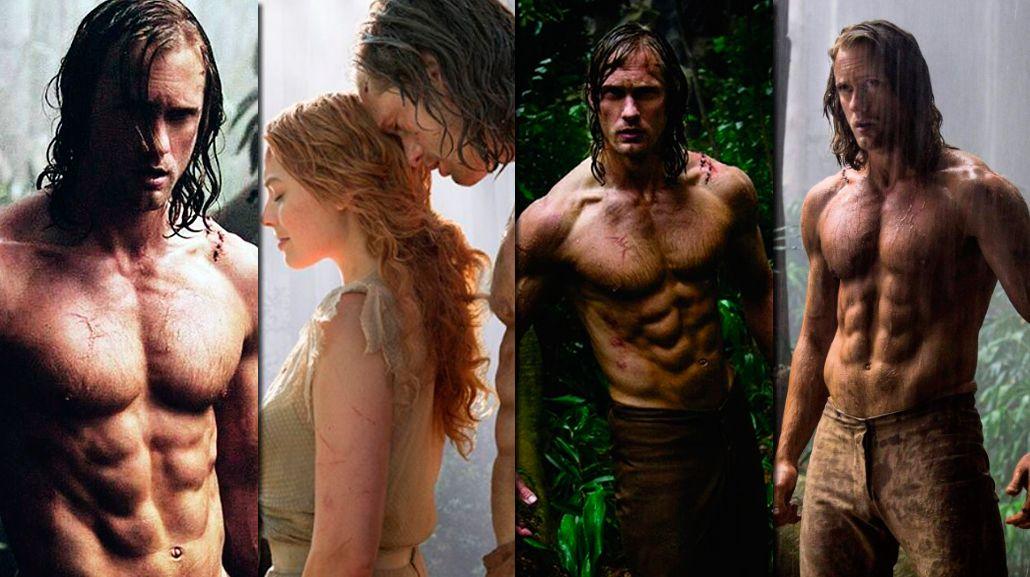 Conocé al nuevo Tarzan, salvaje y sexy