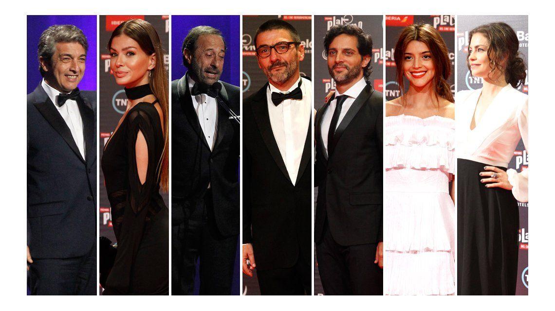Mirá el look de los famosos en los Premios Platino