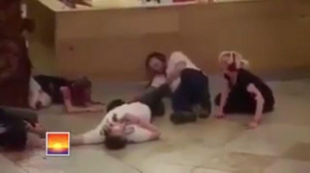 El video del momento en que comenzó el salvaje tiroteo en Munich