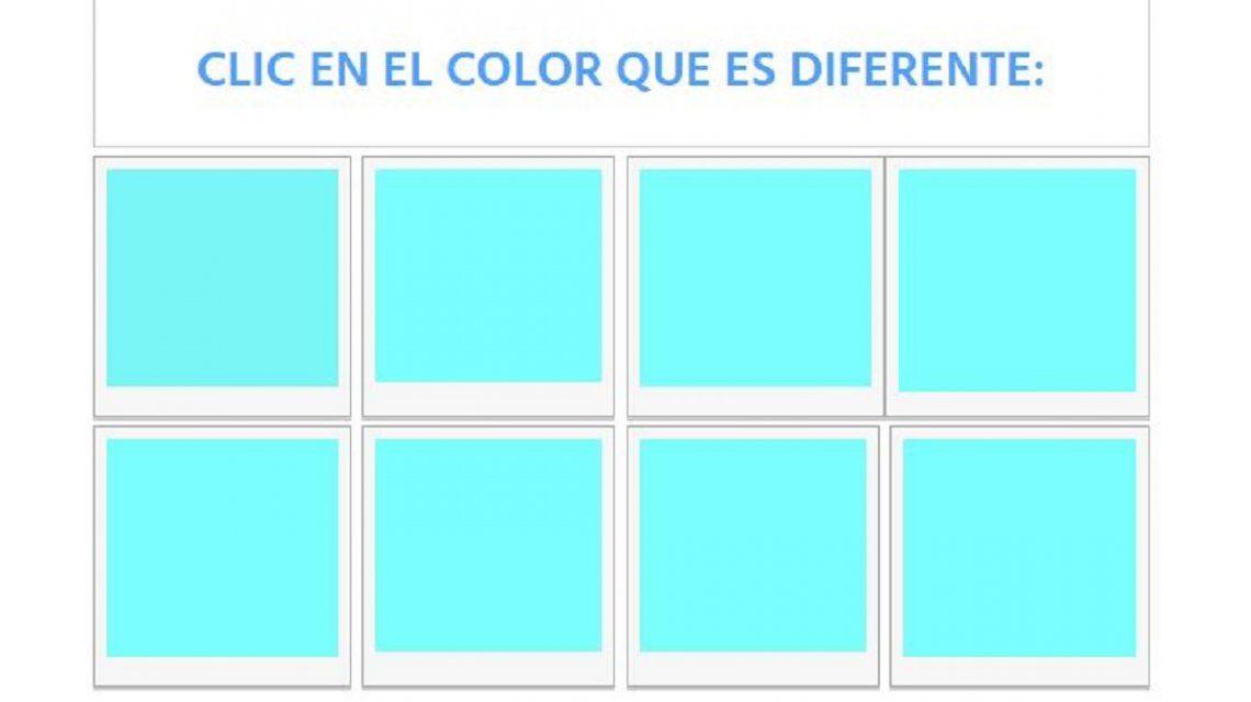 #TestM1: ¿Podés ver la diferencia en éstos colores?