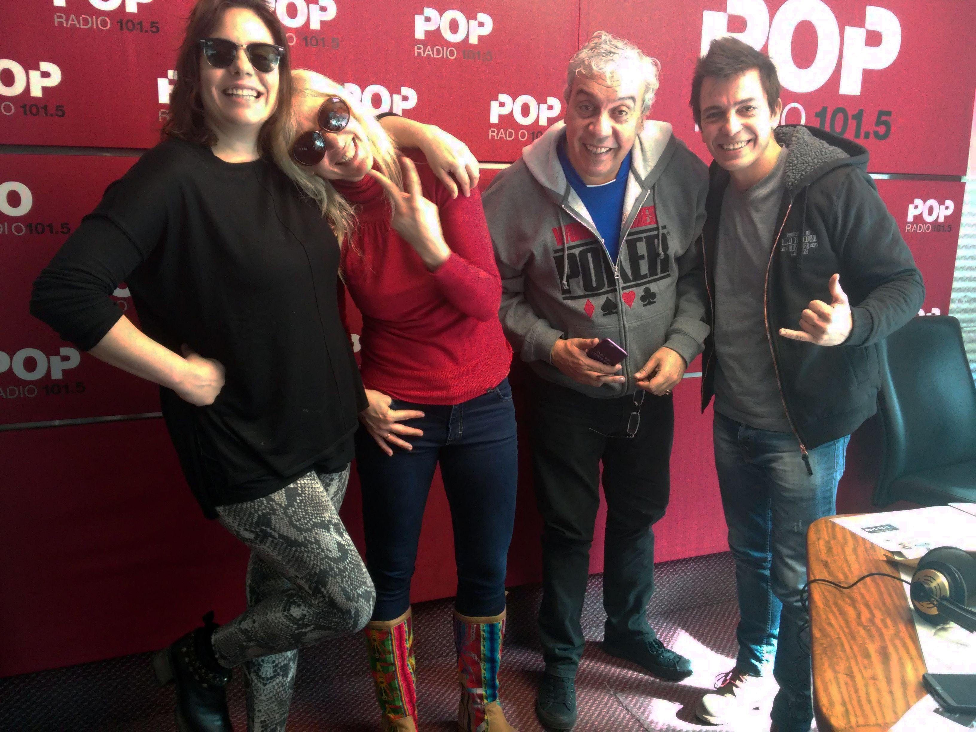 Día del amigo: desopilante mano a mano con Coco Sily y Daniel Aráoz