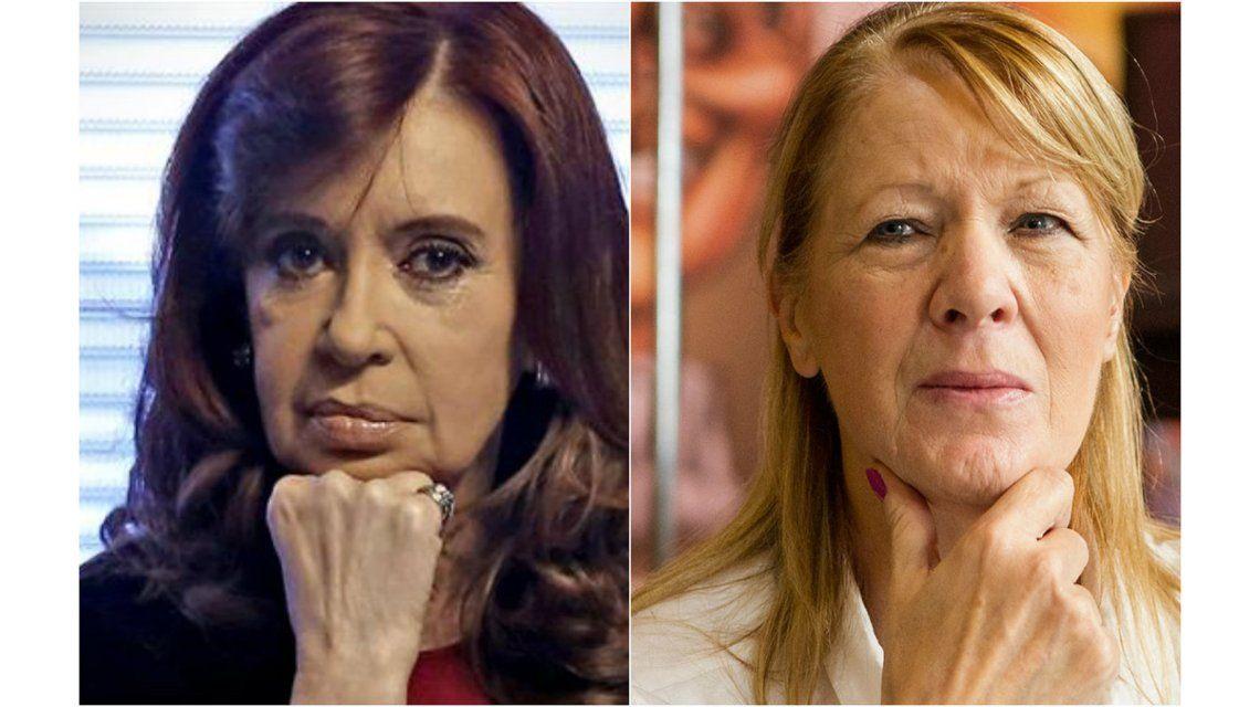 Cristina volvió a apuntar contra Stolbizer y aseguró que la denuncia es una copia