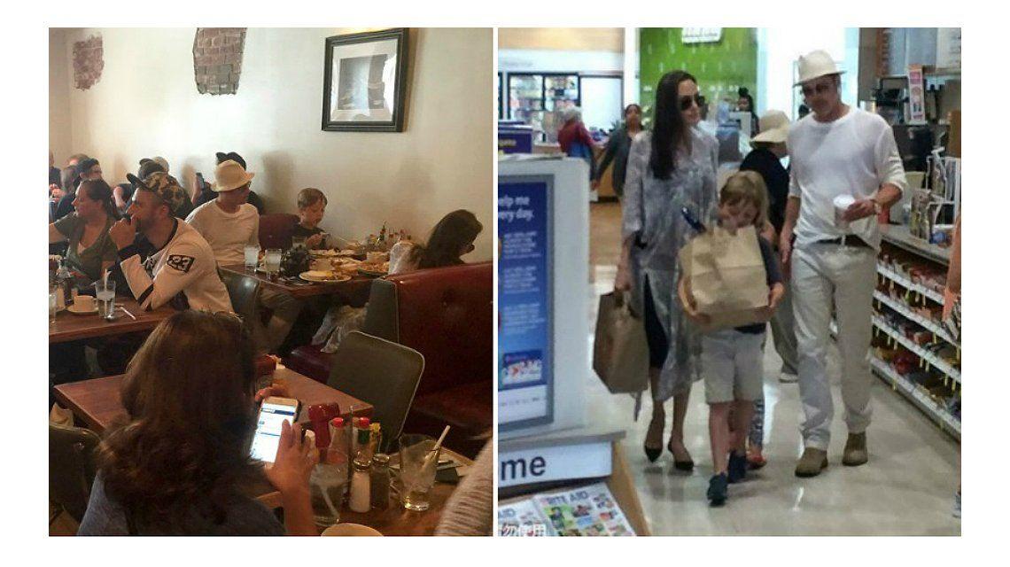 Gasolero: conocé el restaurante donde Brad Pitt y Angelina Jolie festejaron el cumpleaños de sus gemelos