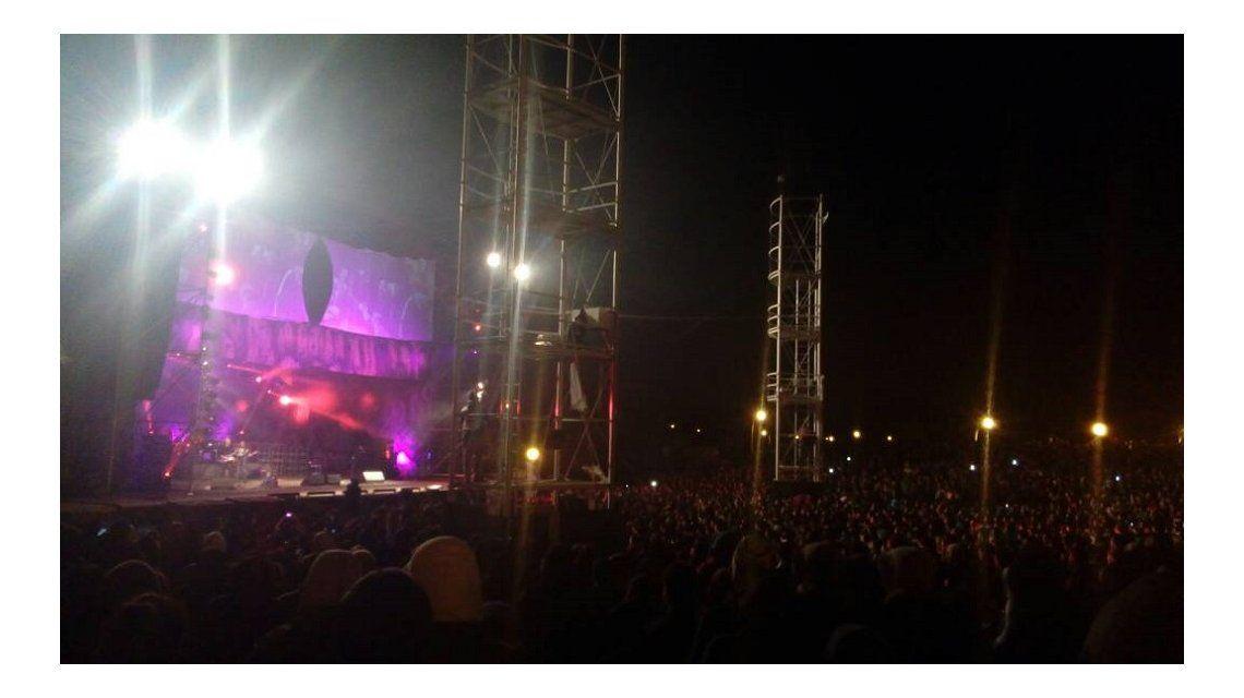 Tragedia en un recital de La Renga: un joven se descompensó y murió en pleno show