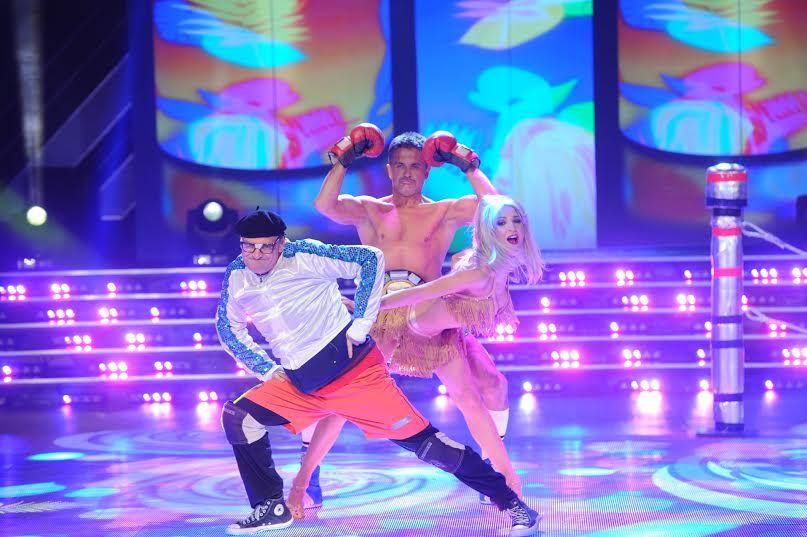 Carlos Belloso y Osvaldo Laport homenajearon a sus personajes de Campeones en la salsa de tres