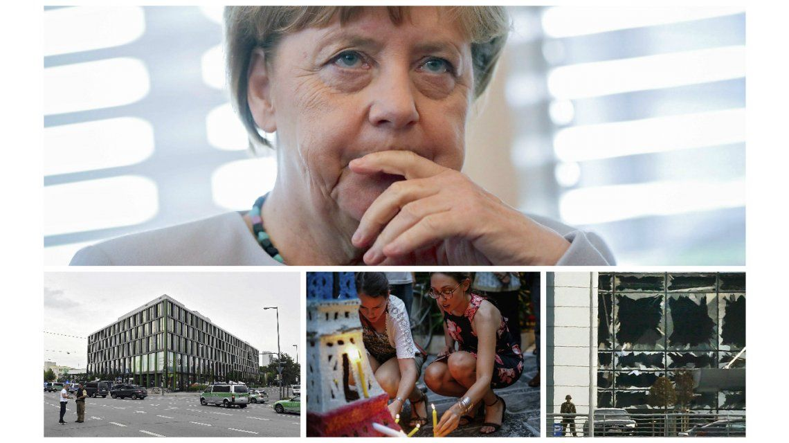 Europa en estado de guerra: Alemania convoca a gabinete de emergencia tras tiroteo en shopping
