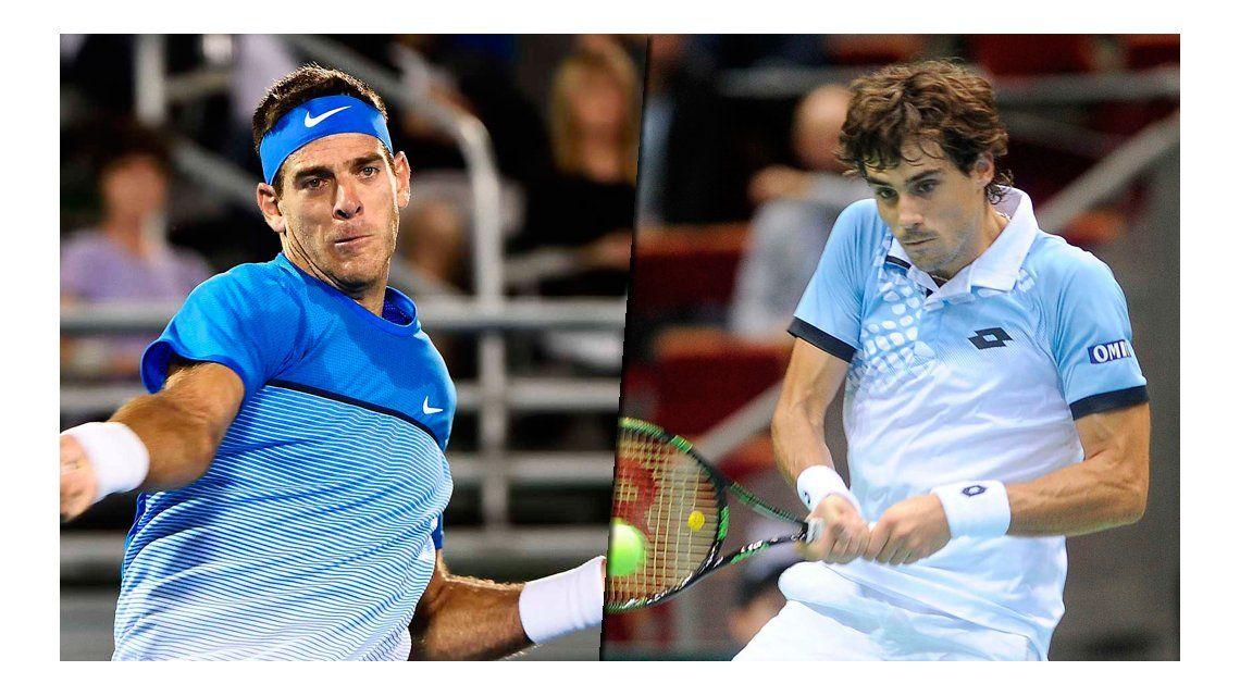 Del Potro y Pella chocan en el arranque de Roland Garros