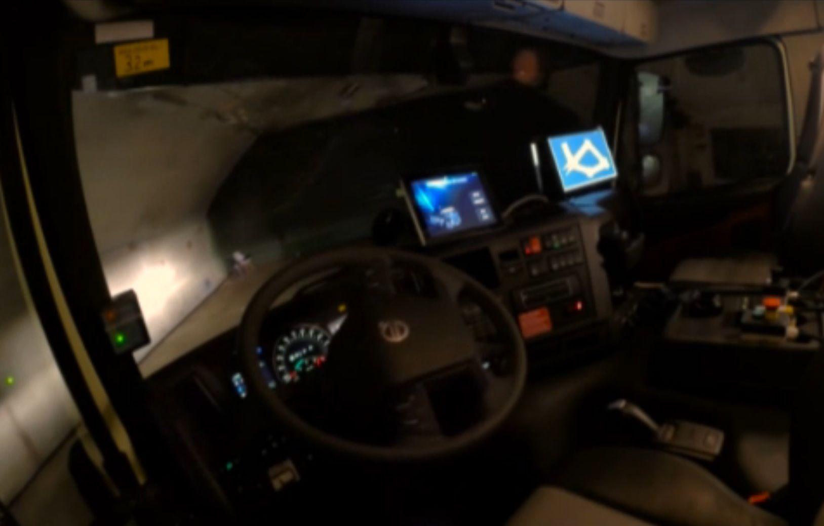 Volvo prueba un modelo sin conductor