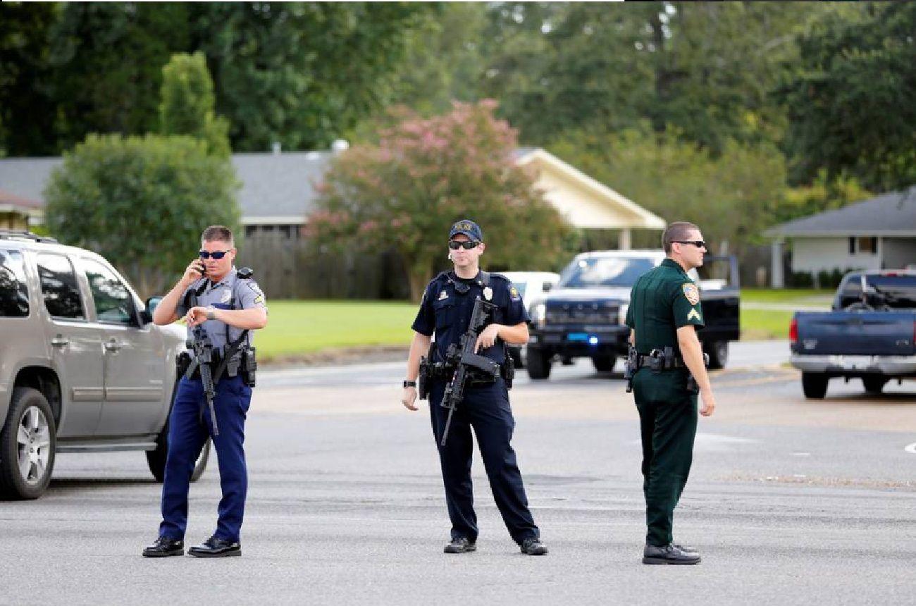 Tres policías muertos y varios heridos, tras un enfrentamiento racial en Luisiana